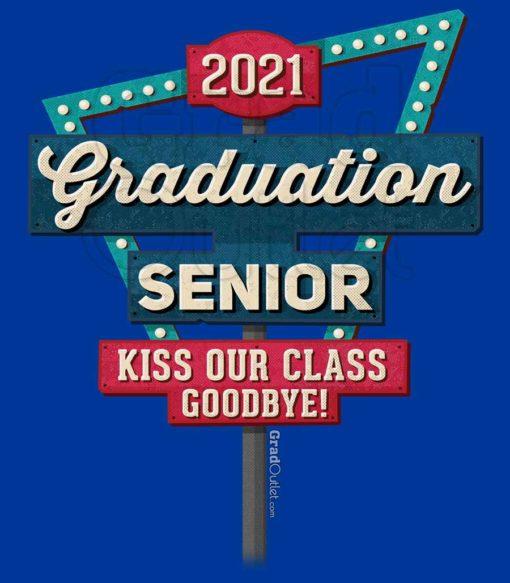 Vegas Sign Kiss Our Class