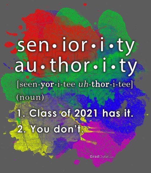 Seniority Authority Definition
