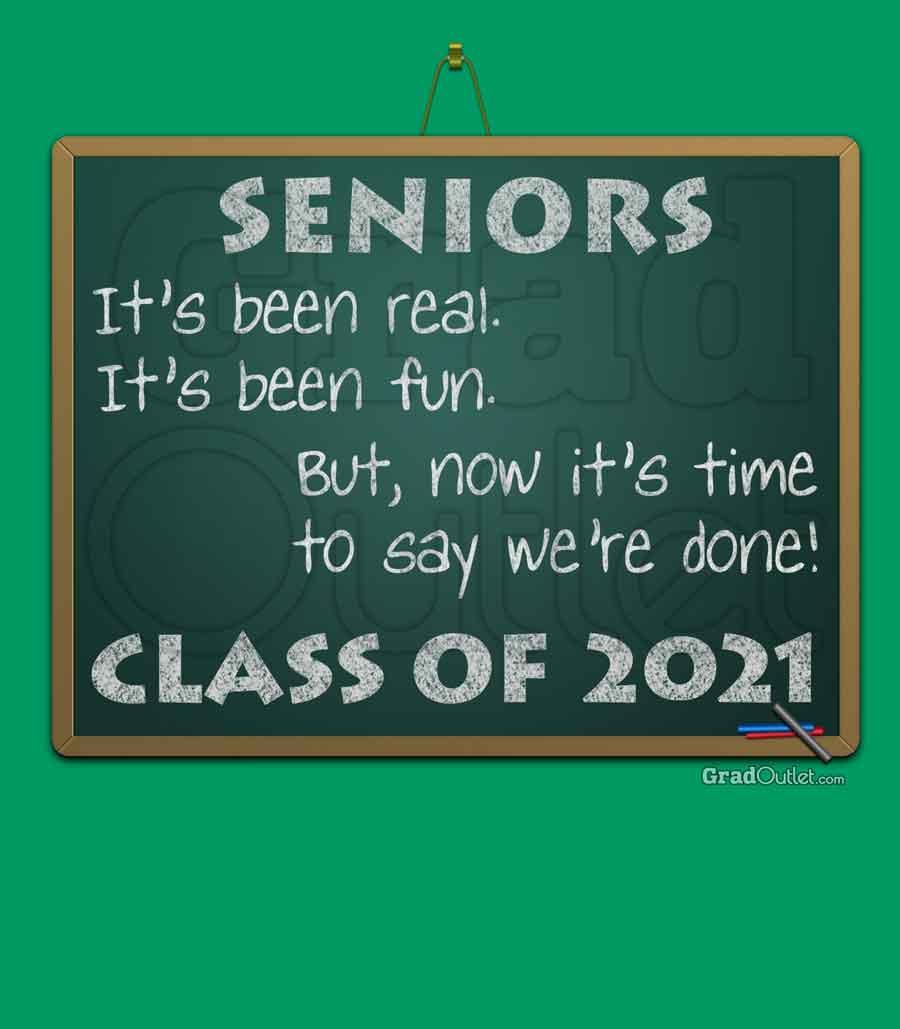 Chalkboard Senior Poem Hoodie