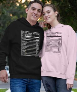 Senior Nutritional Facts - Light Print Hoodie