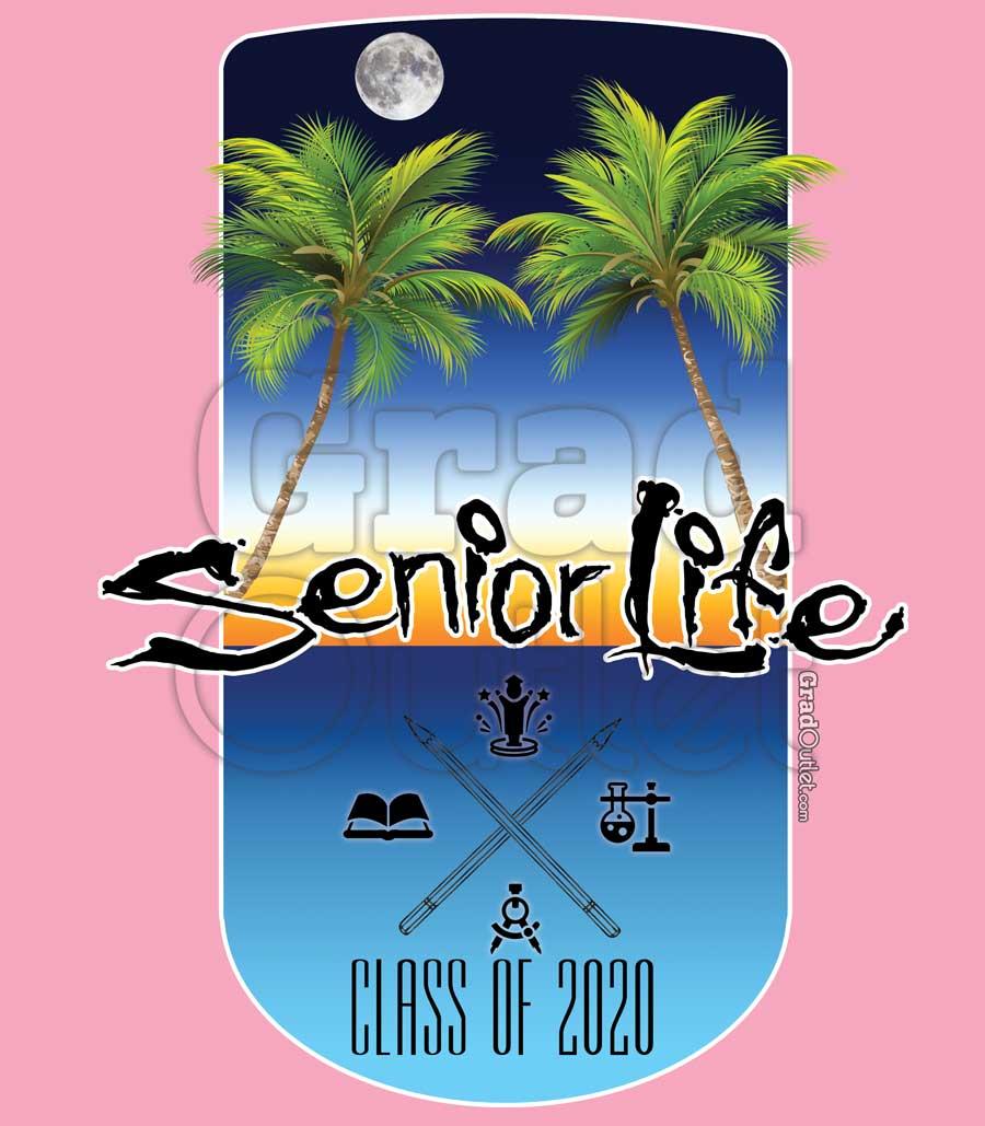 Senior Life - Sunset on the Beach Hoodie