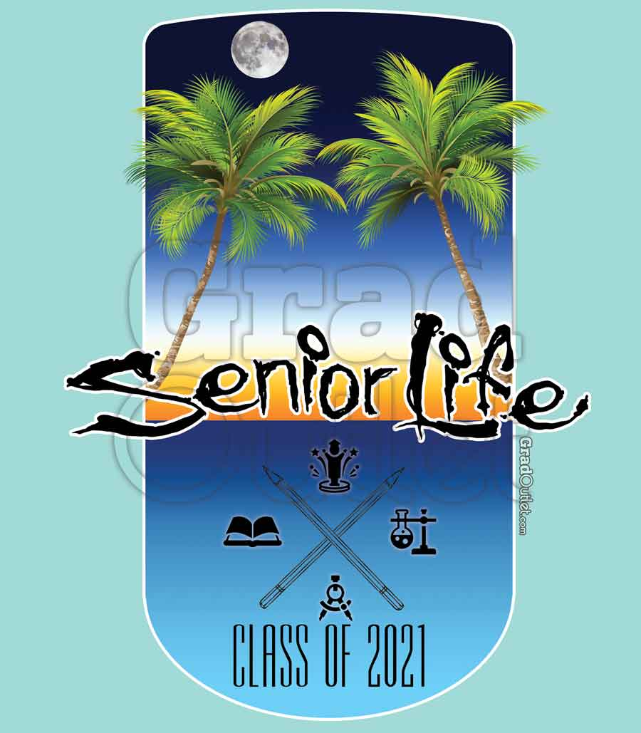 Senior Life - Sunset on the Beach Hoodie