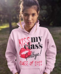 Kiss My Class Goodbye Lips Hoodie
