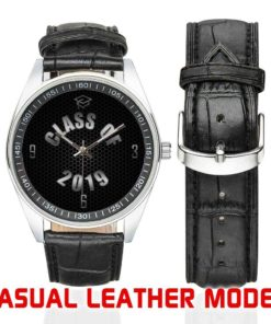 Classic Leather Watch - Various Black Face Designs