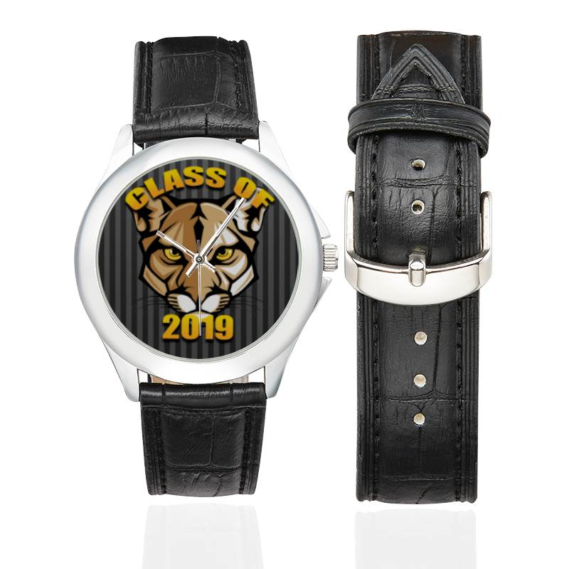 Unisex Leather Watch - Mascots